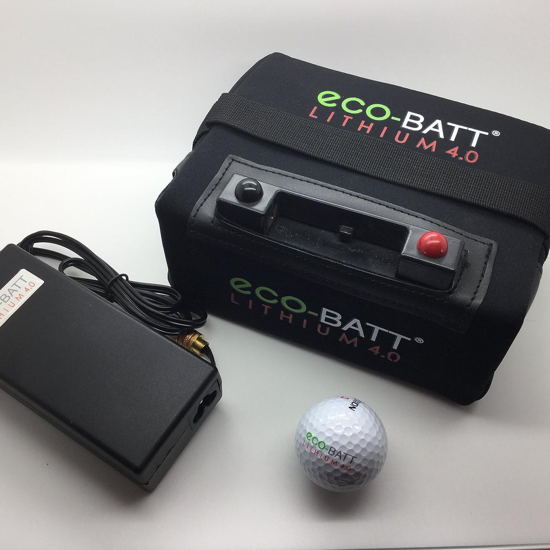 ECO-BATT Mini BATERIA DE Litio para CARRITOS DE Golf 12V 18/27 Hoyos Cargador DE Regalo: Amazon.es: Deportes y aire libre