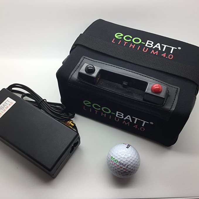 ECO-BATT Mini BATERIA DE Litio para CARRITOS DE Golf 12V 18/27 Hoyos Cargador DE Regalo: Amazon.es: Deportes y aire libre