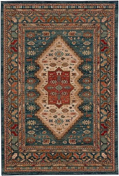 Amazon Com Karastan Spice Market 90937 50130 Mandeb Sapphire Area