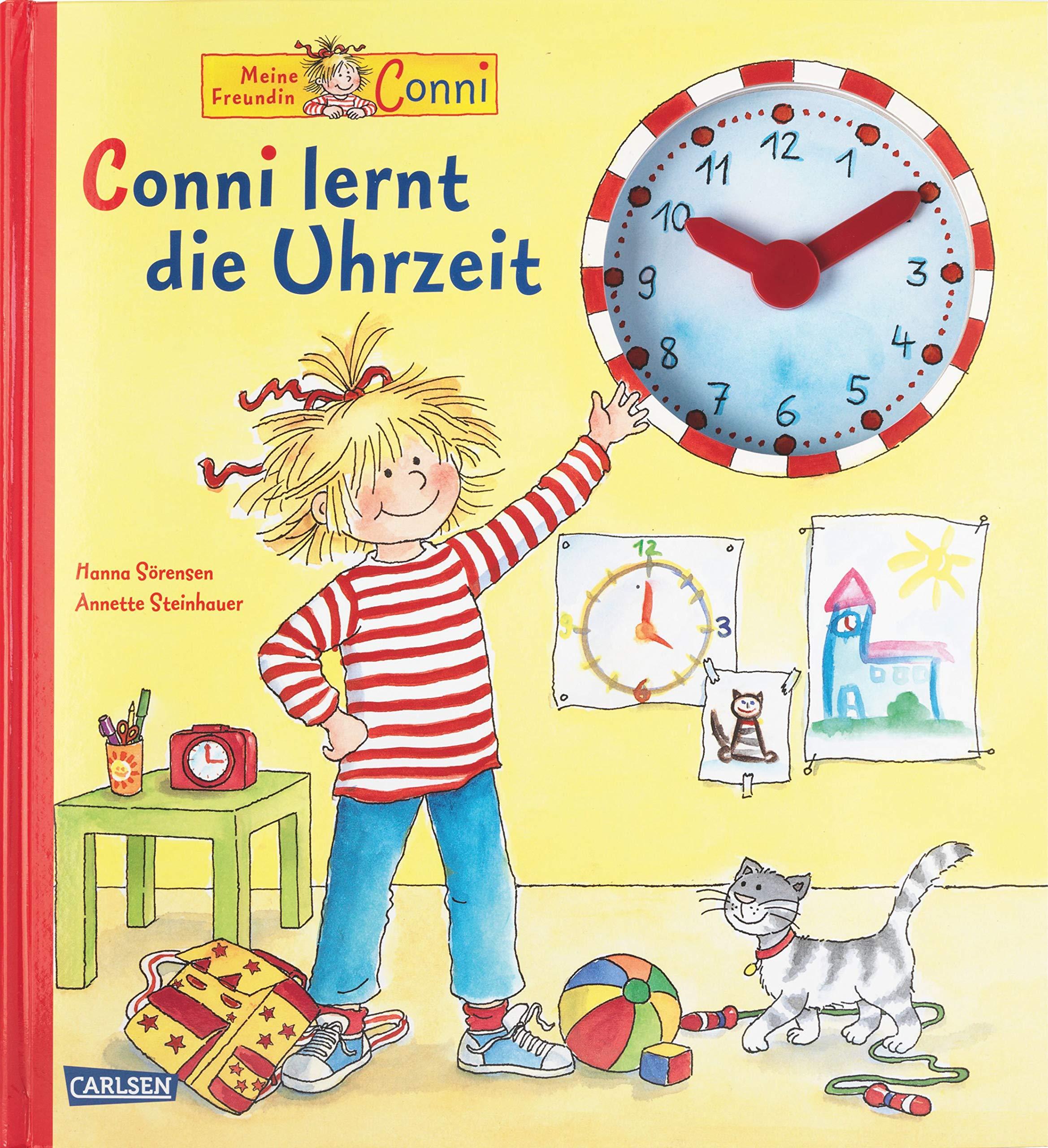 Conni Bilderbücher  Conni Lernt Die Uhrzeit