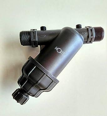 HARIT FROM KARTIK Plastic 1-inch-Inlet Water Tank Y Type for Garden Lawn, Black
