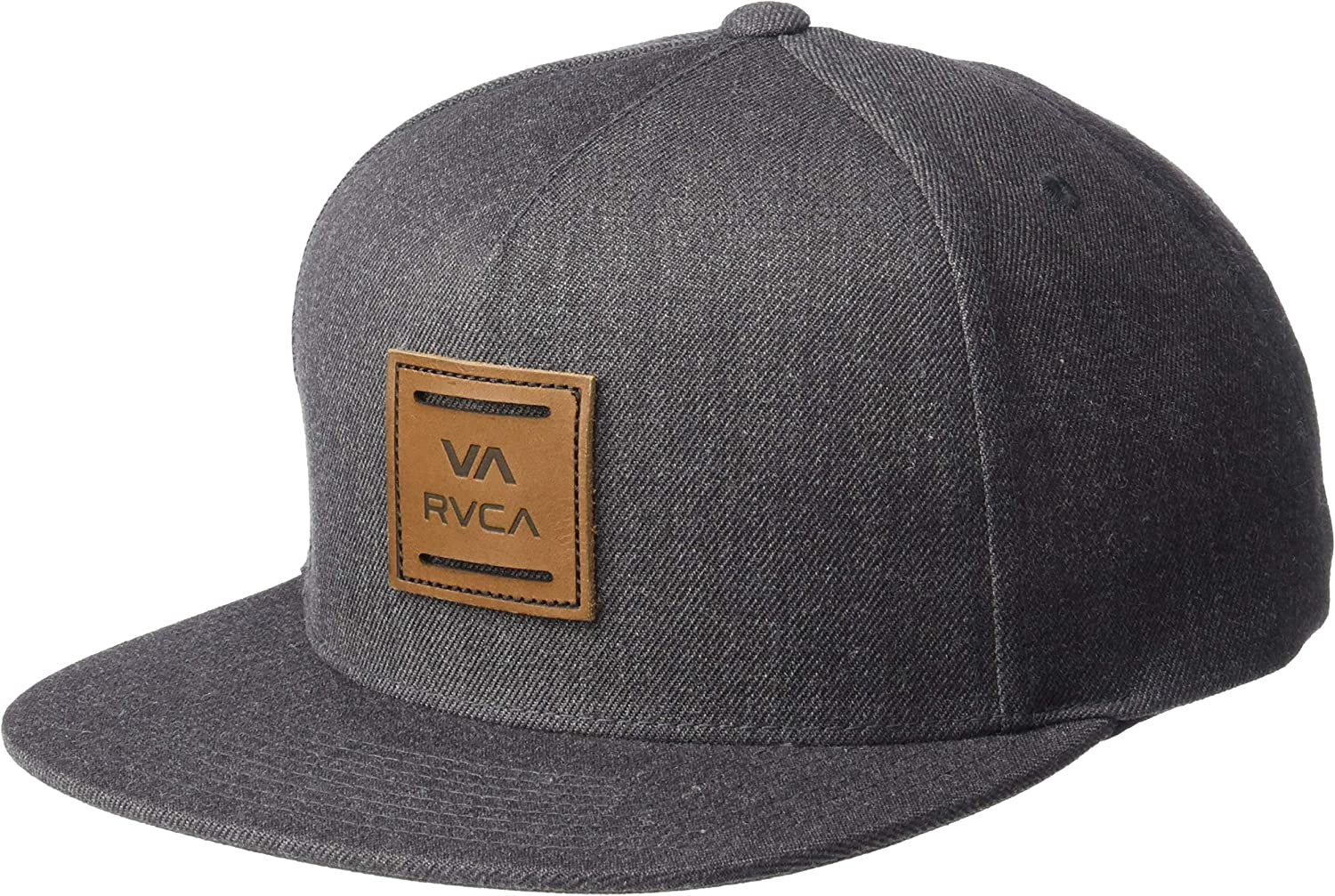 RVCA Va All The Way Snapback Hat Brown 1SZ: Clothing