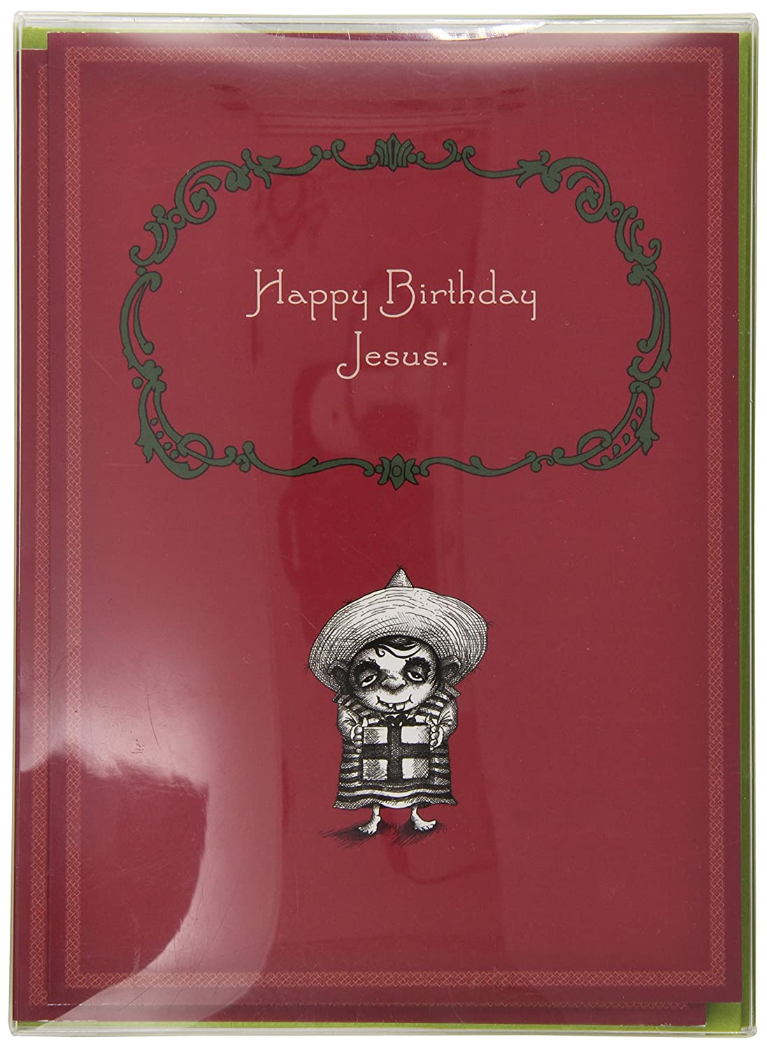 Amazon happy birthday jesus by bald guy greetings 8 cards amazon happy birthday jesus by bald guy greetings 8 cards per box kitchen dining kristyandbryce Images