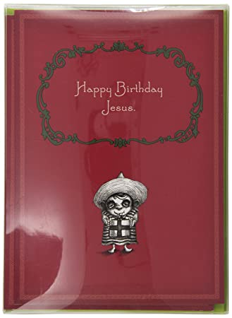 Amazon Happy Birthday Jesus By Bald Guy Greetings 8 Cards