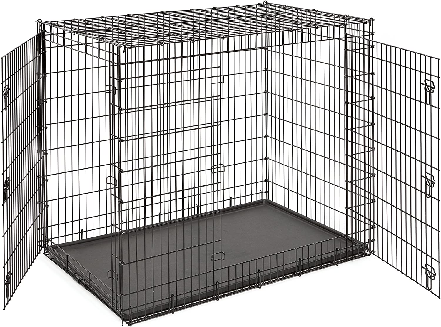 MidWest Homes for Pets XXL Giant Dog Crate Mastiff Bernard /& Other XXL Dog Breeds St 54-Inch Long Ginormous Dog Crate Ideal for a Great Dane