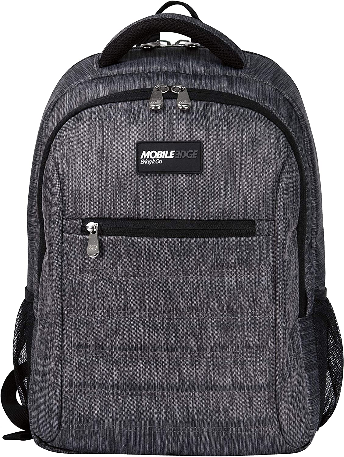 Mobile Edge Carbon SmartPack 16 Inch Laptop Backpack with Separate Padded Tablet Pocket, Lightweight Design for Men, Women, Students MEBPSP6, One Size