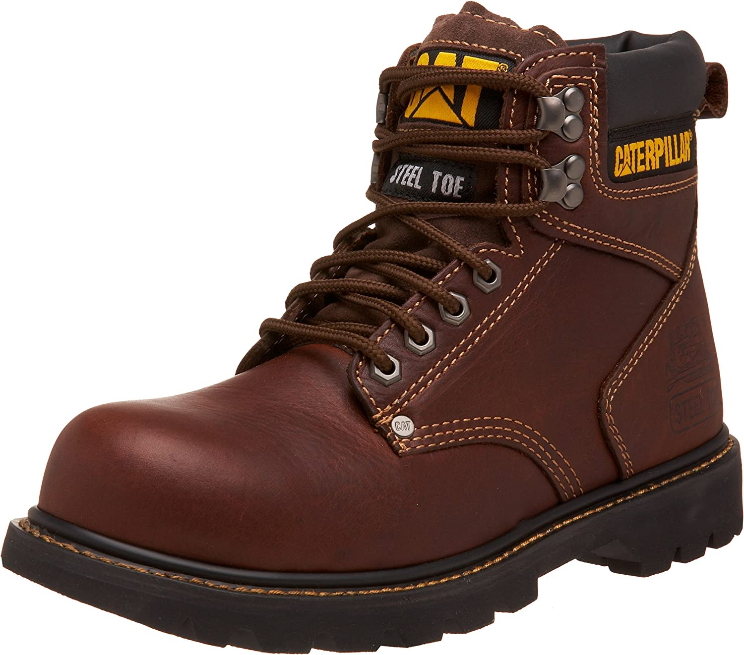 Caterpillar Men's Second Shift Steel Toe Leather Work Boot : Amazon.ca:  Clothing, Shoes & Accessories