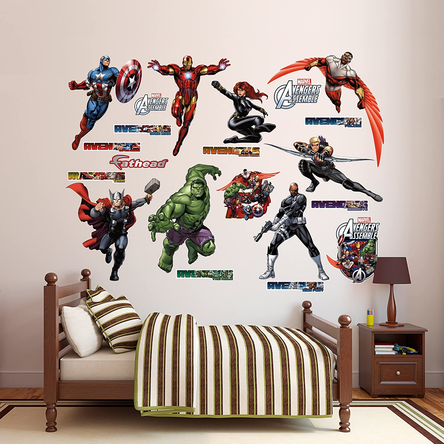 Fathead Avengers Assemble Collection Real Big Wall Decal