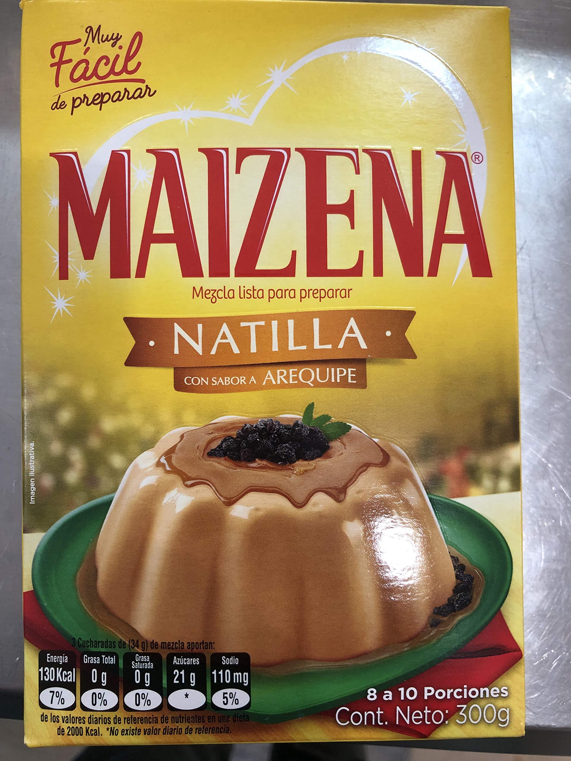 Caramel desert / Mezcla para natilla con arequipe