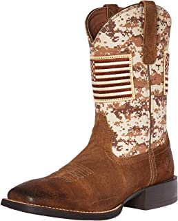 a468c9785 Amazon.com | Kids' Patriot Western Cowboy Boot | Boots