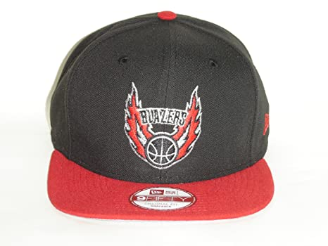 cd77c35b13f Image Unavailable. Image not available for. Color  New Era NBA Portland  Trail Blazers Old Logo 2 Tone Black Snapback Cap 9fifty NewEra