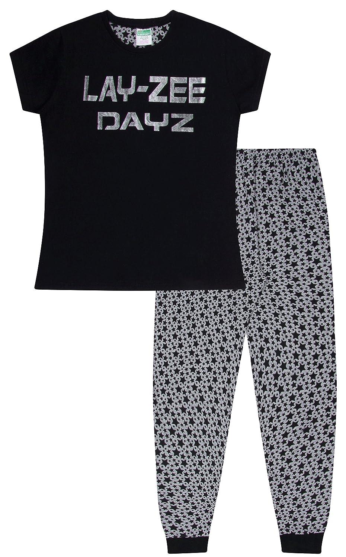 Cool Layzee - DayZ Silver Long Pyjamas Girl's Teenage