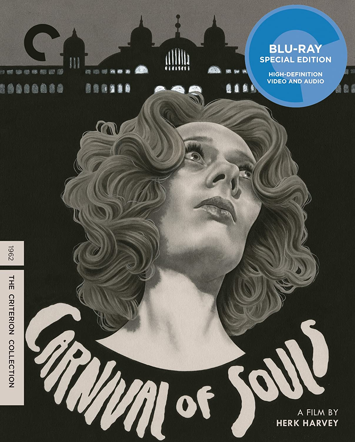 Carnival of Souls (Criterion Collection) [Blu-ray] Candace Hilligoss Frances Feist Sidney Berger Art Ellison