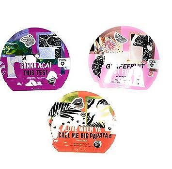 44419fbd5a91e Amazon.com: Victoria's Secret PINK Face Mask Bundle 3-Pack: Papaya ...