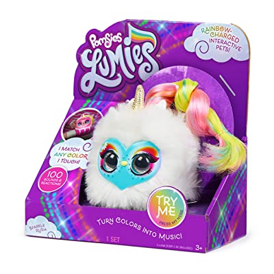Pomsies 18028 Lumies Sparkle Rush, Teal: Toys & Games
