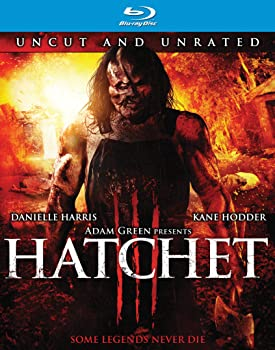 Hatchet III Director's Cut on Blu-ray