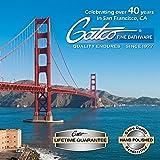 Gatco 1803 Flush Mount Frameless Rectangle