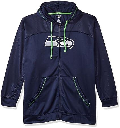 best website 493b3 63b2d NFL Mens Seahawks Full Zip Hoodie