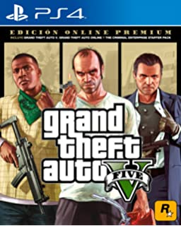 Grand Theft Auto V Premium Online Edition Playstation  Standard Edition