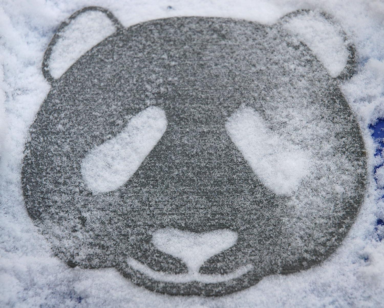 Toejamr Snowboard Stomp Pad Panda Bear FACE Gray