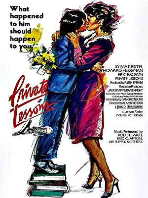 Private lessons / original u. S. One-sheet movie poster (sylvia.