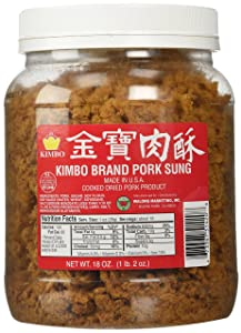 Kimbo Brand Sung Cooked Dried Pork 18 oz (1lb, 2oz)
