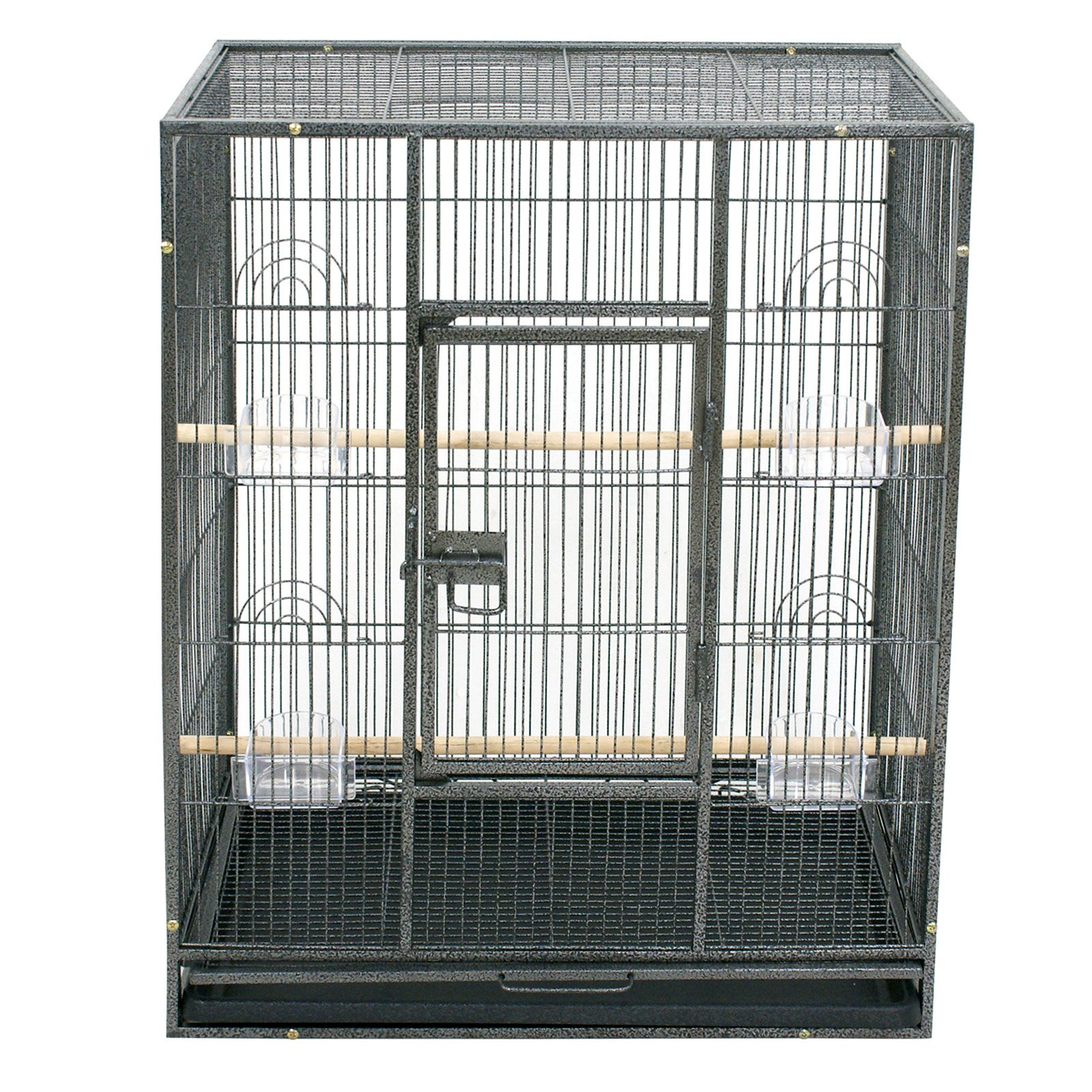 Super Deal 53''/61''/68'' Large Bird Cage Play Top Parrot Chinchilla Cage Macaw Cockatiel Cockatoo Pet House, 53 inch by SuperDealUsa (Image #3)
