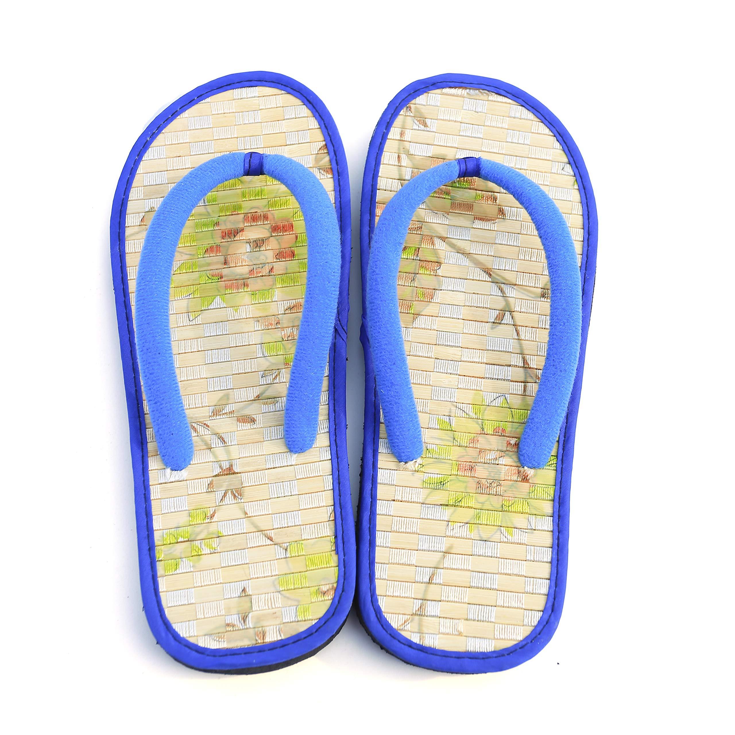Bamboo Flip Flop Sandals Beach Summer (11 US, A)