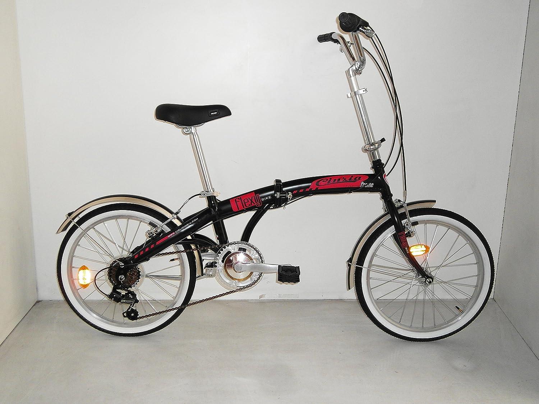 Bicicletta Car-Flexy unisex e pieghevole 20 Cicli Cinzia