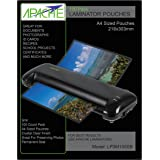 Apache Laminating Pouches Letter Size 100 Pack 3 mil