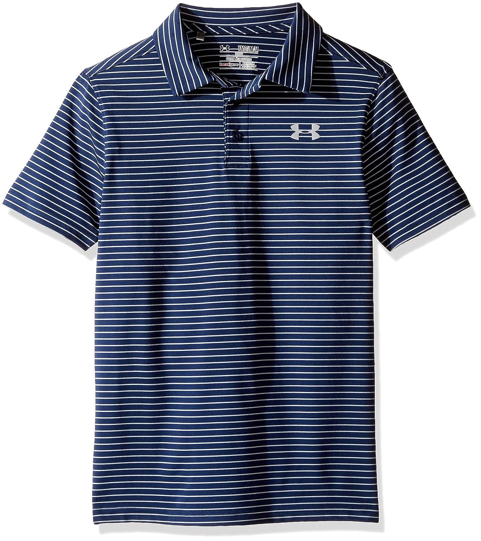 b349b3c2d Amazon.com  Under Armour Boys Playoff Stripe Polo Shirt  Clothing