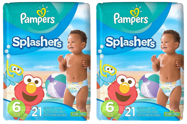 Pampers Splashers 3//4 Diposable Swim Diapers Swimpants 24//pkg 48 Total NEW 2
