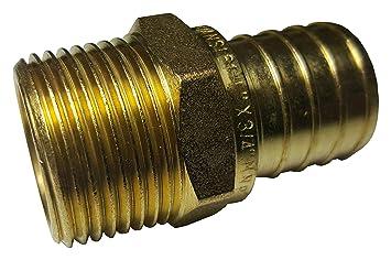 Pack of 2 Camera & Photo Ex-Pro 1/4 inch Male Spigot Brass Adapter Shoe Mounts