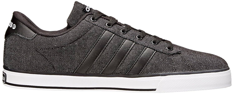 adidas NEO Men's SE Daily Vulc Lifestyle Skateboarding Shoe B00XFBN19I 14 M US|Black/Black/White