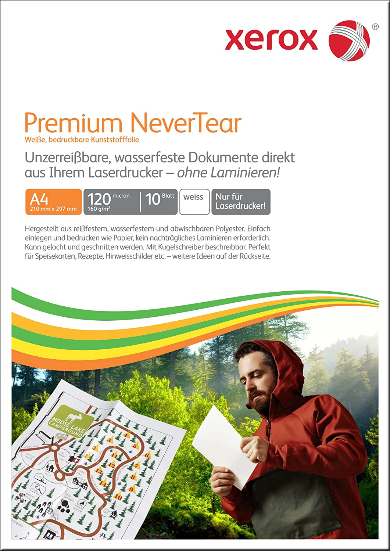 Xerox Premium Never Tear carta A4, 10fogli bianco 003R98126