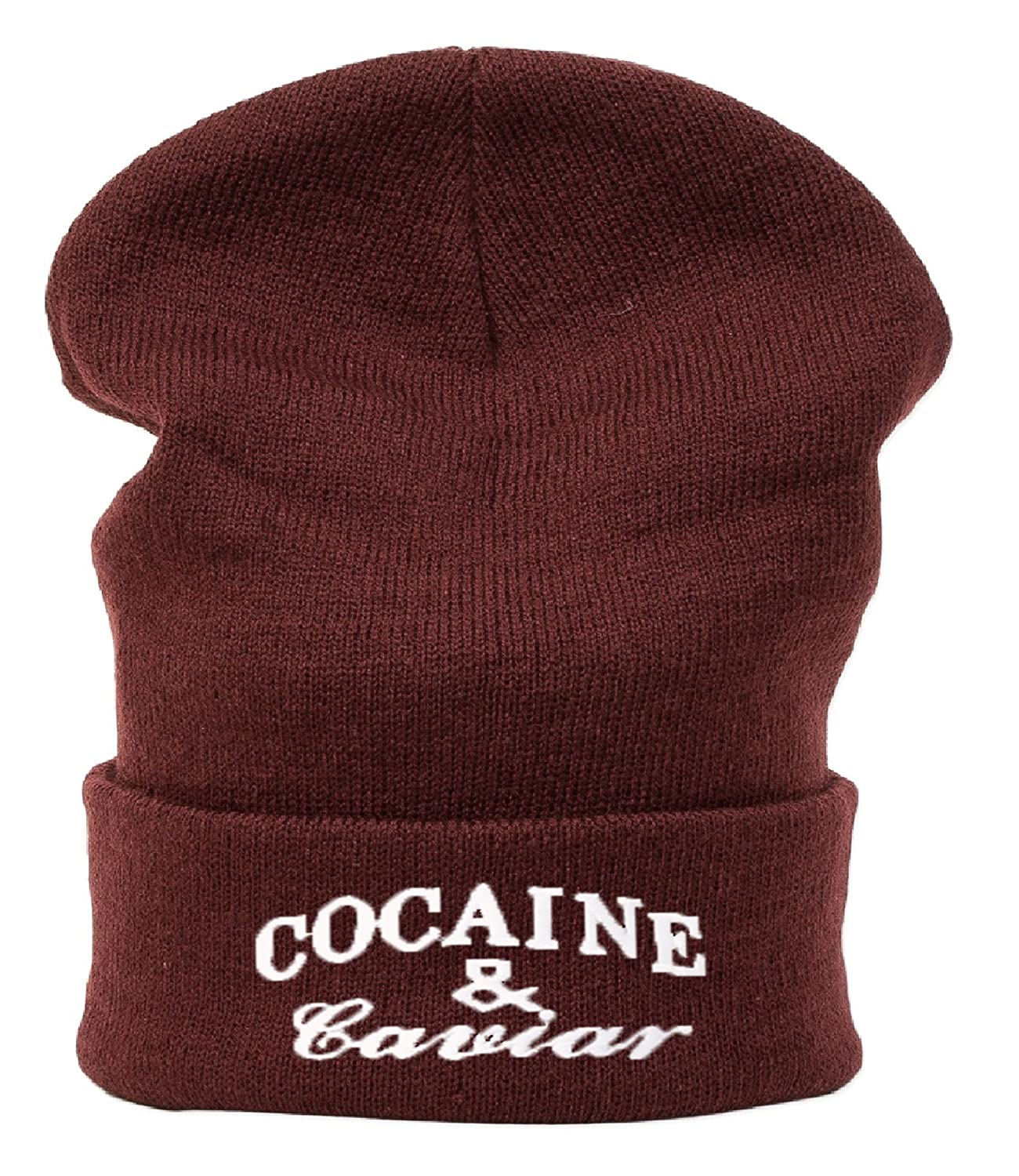 Beanie Hüte Mützen Damen Herren Bad Hair Day Bastard Meow 1994 Wasted Commes HAT HATS Morefazltd (TM)((cocaine & cavior))