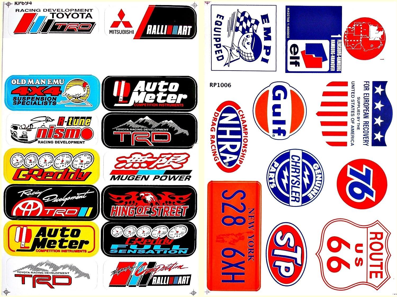 Motorsport Cars Nhra Drag Racing Lot 12 Vinyl Decals Stickers D1202