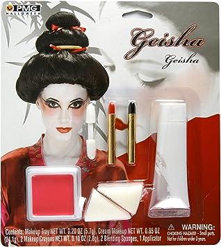 b2d661e40f Japanese Geisha Costume Makeup Kit: Amazon.co.uk: Toys & Games