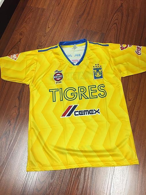 e77e2d28edf Amazon.com : New!! Tigres De La Uanl Generica Jersey : Sports & Outdoors