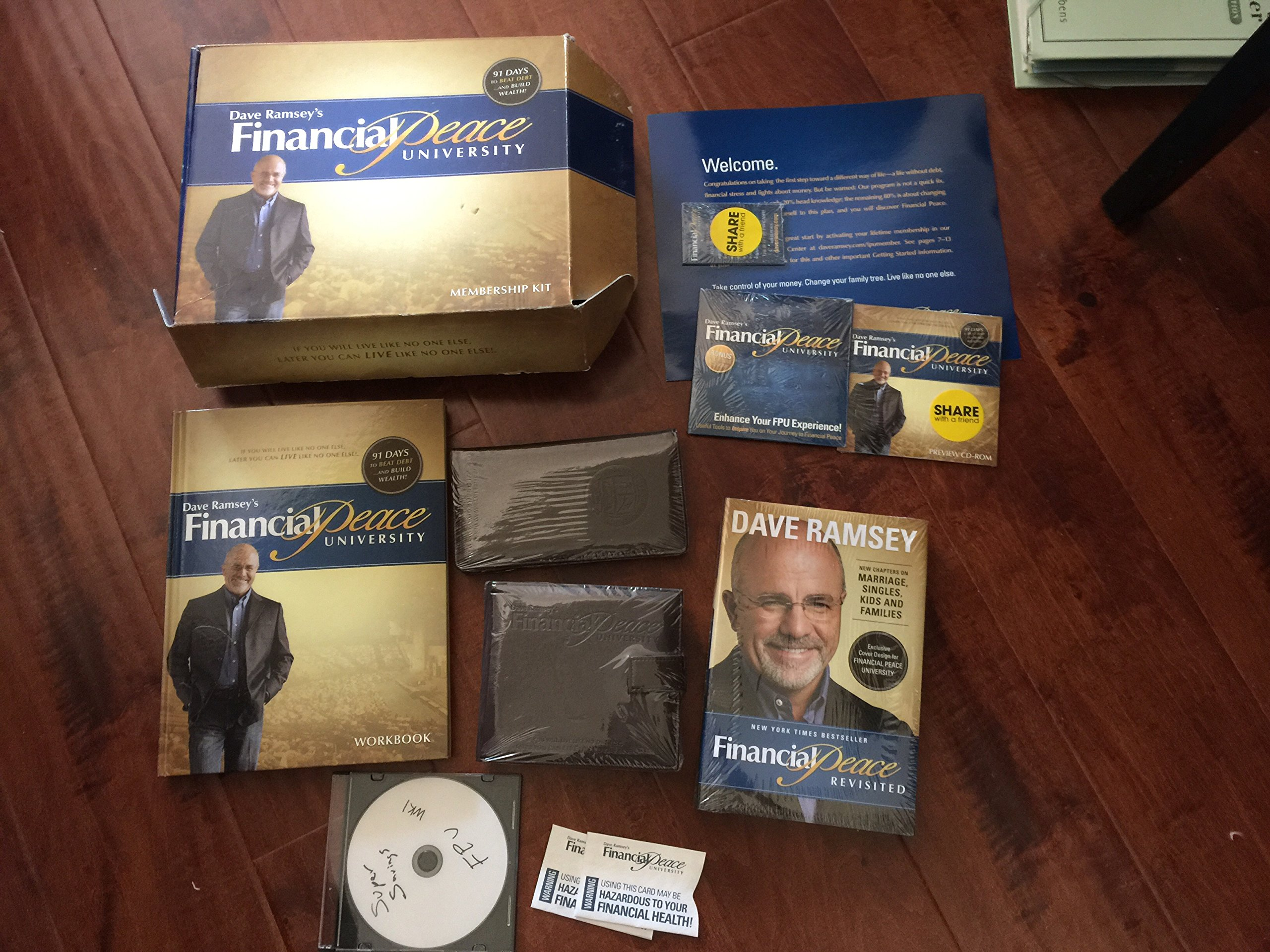 Worksheets Dave Ramsey Financial Peace Worksheets dave ramseys financial peace university membership kit ramsey 9781934629109 amazon com books