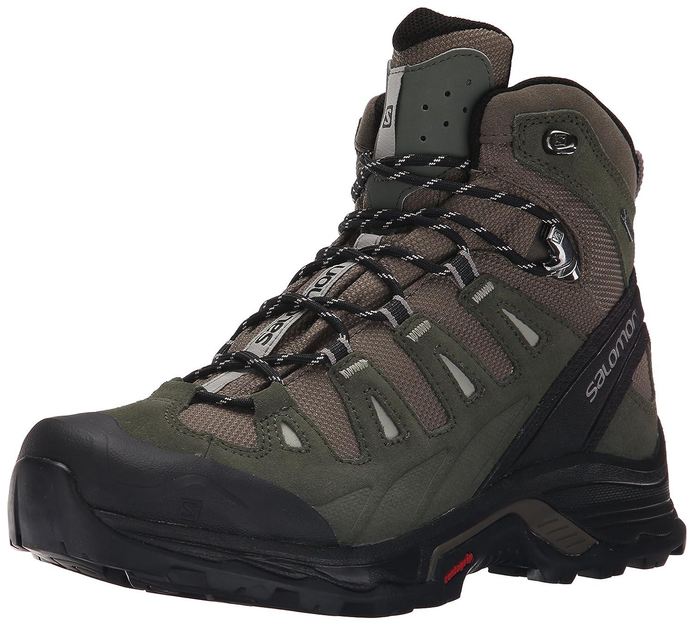 b1ea89e8032b4b Salomon Herren Quest Prime GTX Trekking-   Wanderstiefel grau 49.3 EU