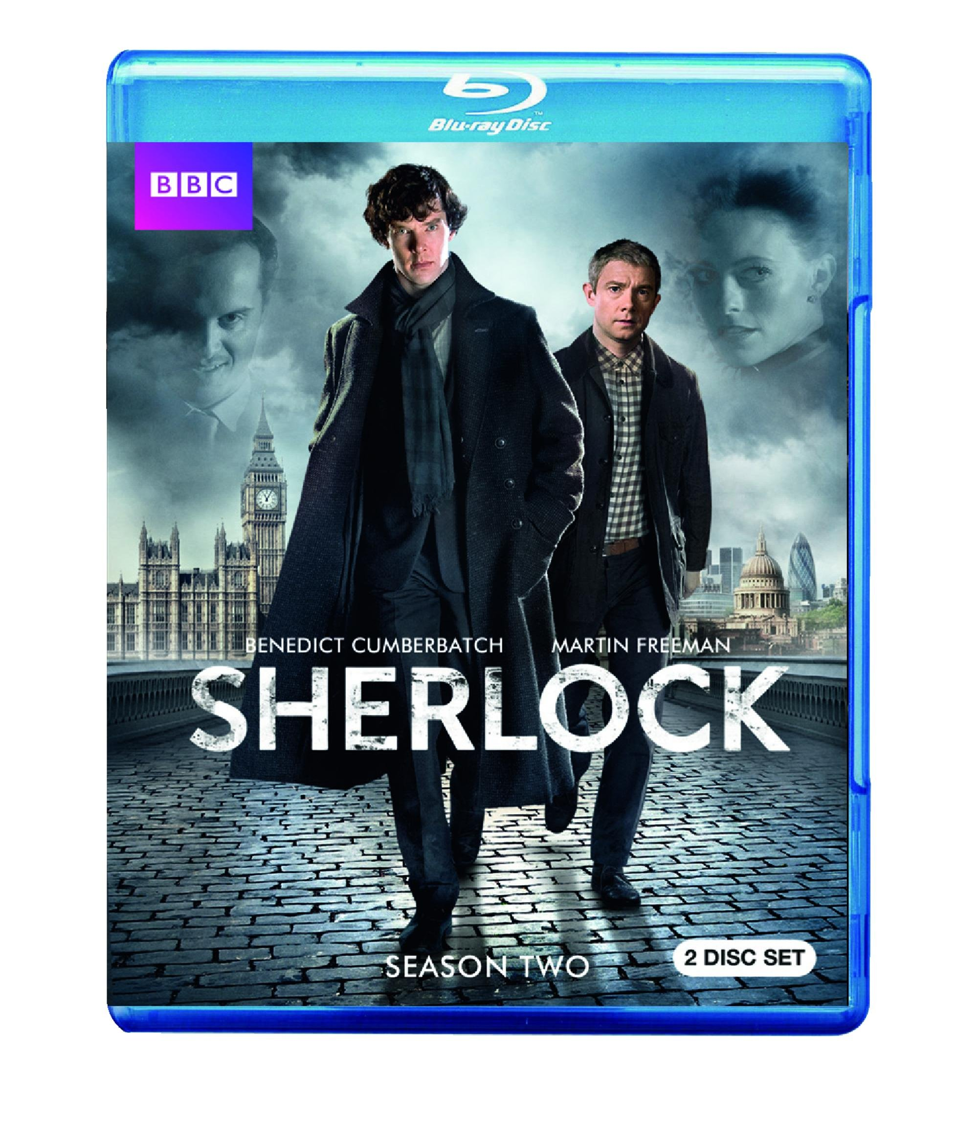 Blu-ray : Sherlock: Season Two (Full Frame, , 2 Disc)