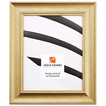 Amazoncom Craig Frames Vintage Revival Brushed Gold Picture