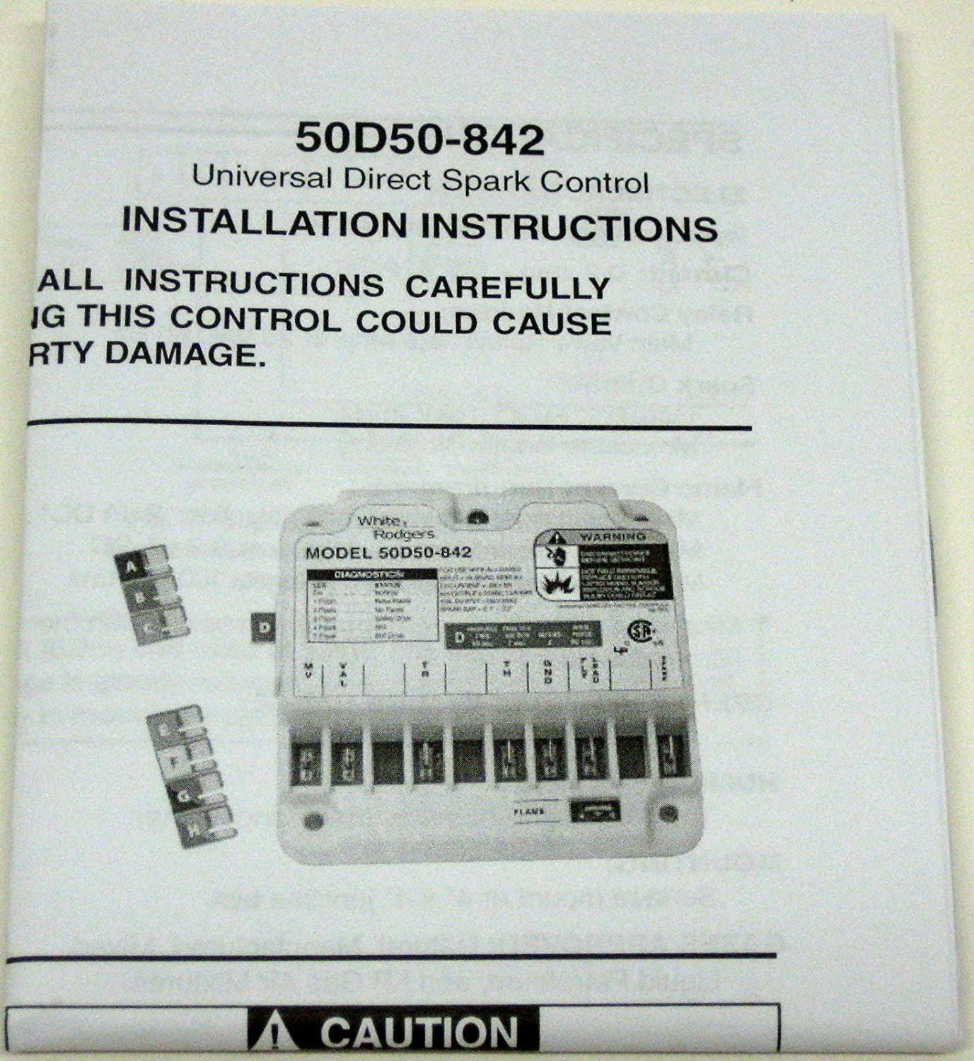 White-Rodgers 50D50-842 White Rodgers Universal Direct Spark Ignition Control