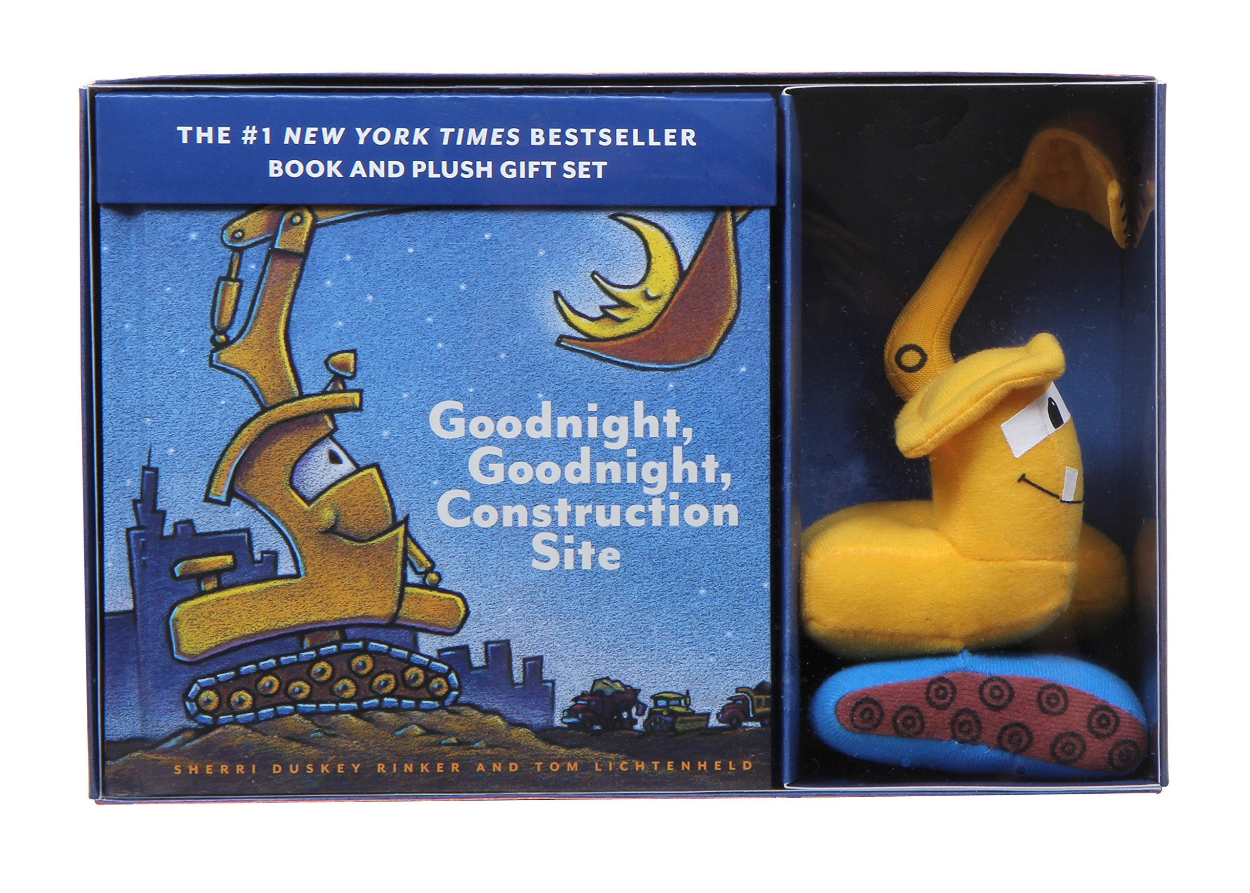 Goodnight, Goodnight, Construction Site Book and Plush Gift Set