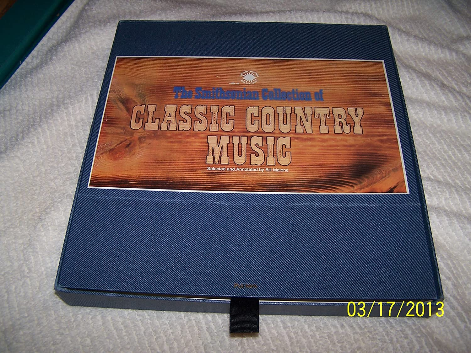 Various Artists - The Smithsonian Collection of Classic Country ...
