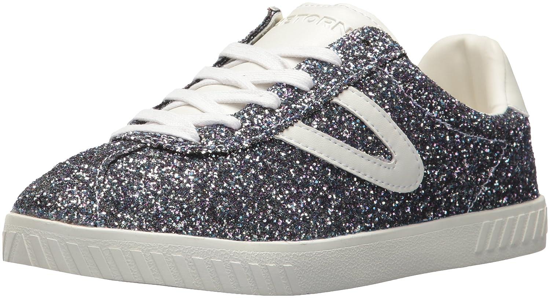Tretorn Women's Camden5 Sneaker B071WW17VM 5.5 B(M) US|Blue Glitter