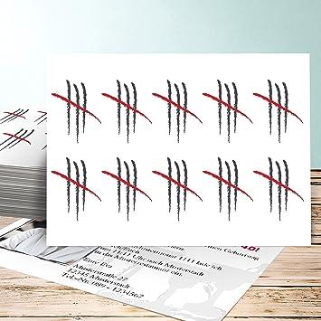 Einladung 40 Geburtstag Postkarte, Strichliste 40 Foto 25 Karten,  Horizontal Einfach 148x105 Inkl.