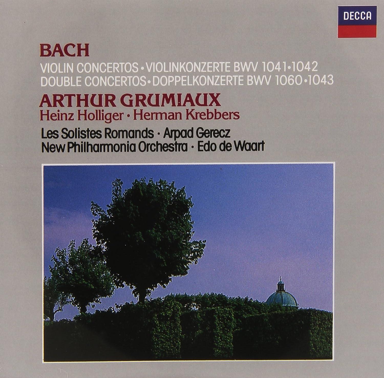 Johann Sebastian Bach, Arpad Gerecz, Edo de Waart, New ...