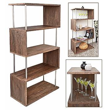 estantera en madera maciza estante para la pared libros separador estilo  ushabby with estantera de madera d68632d3ef93